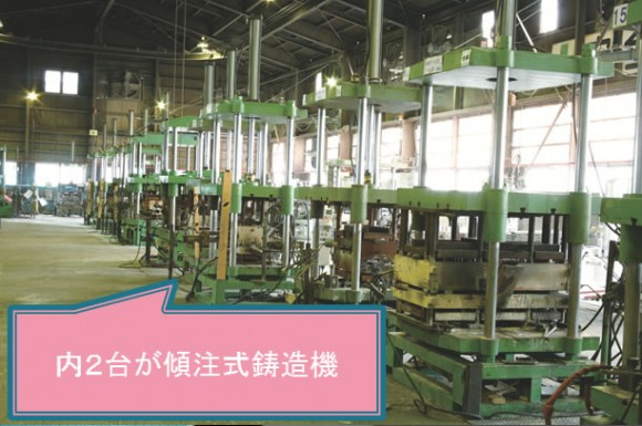 上下式鋳造機